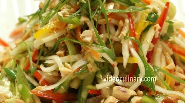Asian style salad