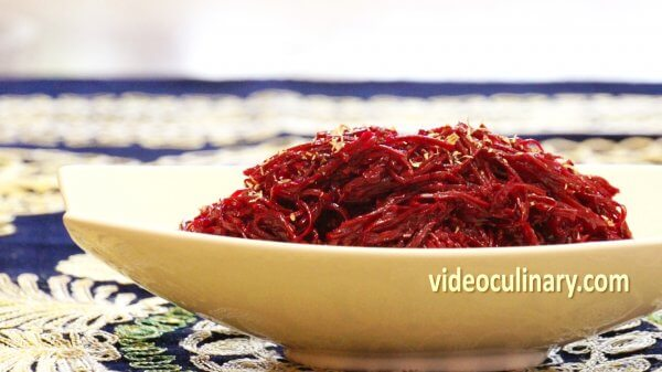 Beet Salad (Russian- Korean fusion)