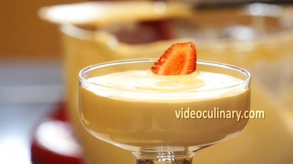 White chocolate Caramel Mousse