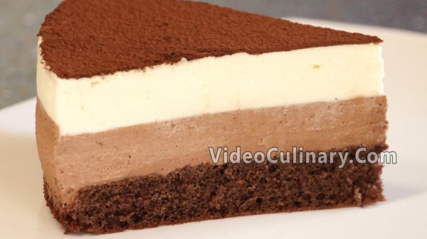 Chocolate Mousse Cake Recipe Step By Step