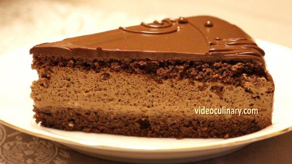 Chocolate Mousse Amp Hazelnut Sponge Cake Daniella Torte