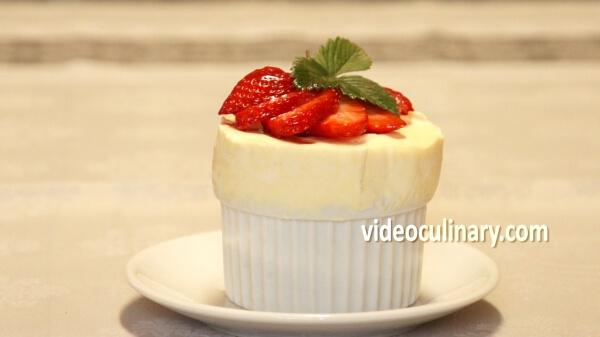 Frozen Soufflé (Grand Marnier soufflé glacé)