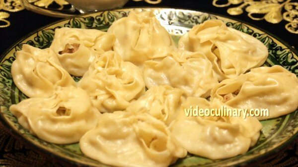 Manti (Steamed dumplings)