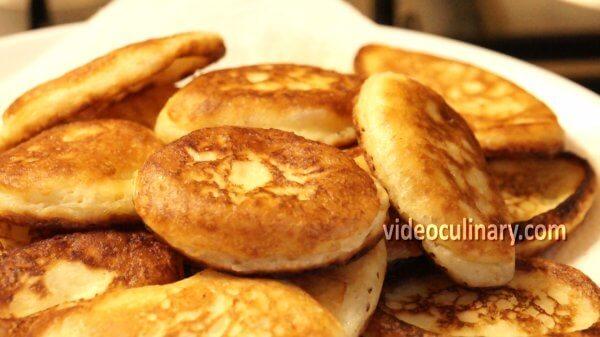 Easy Russian Pancakes Oladushki Video Recipe