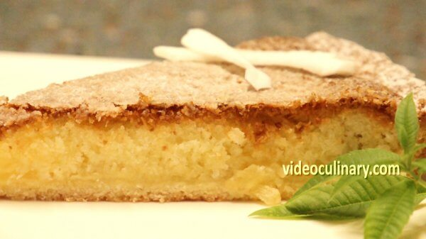 Pineapple Coconut Tart