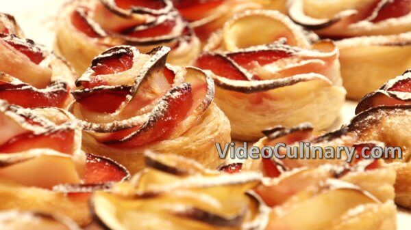 Puff Pastry and Apple Roses