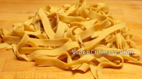 Fresh Egg Yolk Pasta Dough