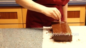 Decorate Cake With Shaved Chocolate