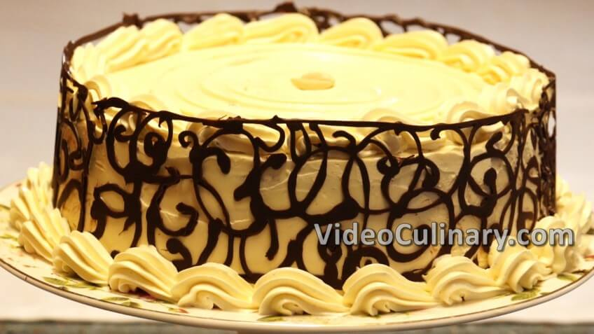 Buttercream Cake - White Chocolate & Caramel