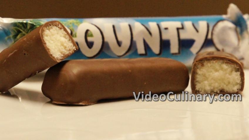 Bounty Chocolate Bars Recipe Homemade Candy